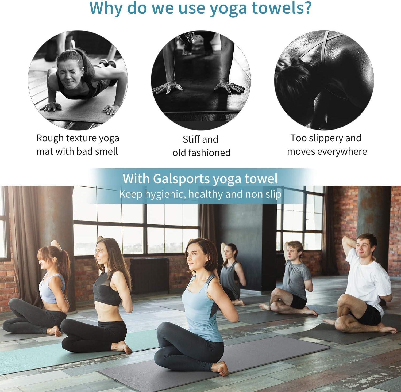 Amazon.com: GalSports - Toalla de yoga caliente ...