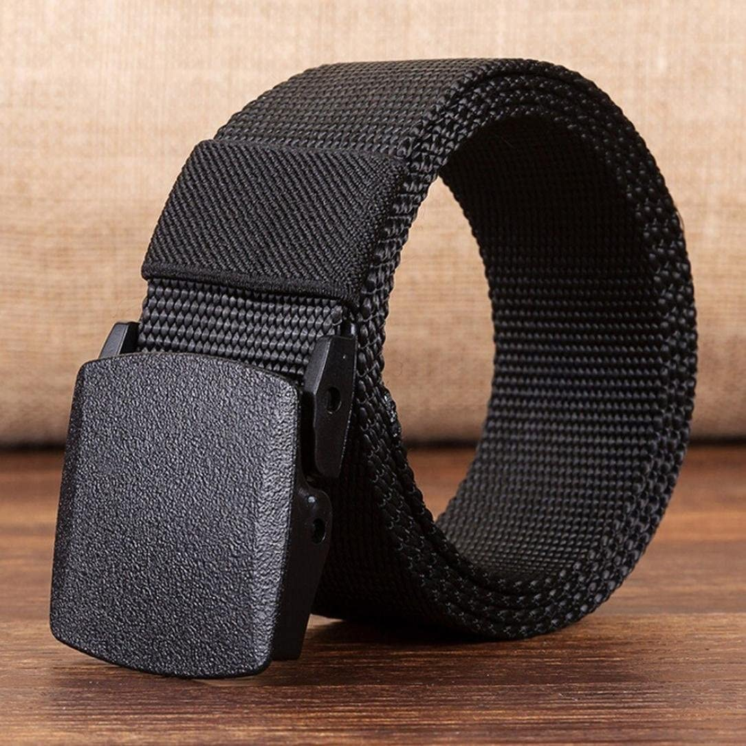 Yoyorule Canvas Belt Hypoallergenic Metal-free Plastic Automatic Buckle