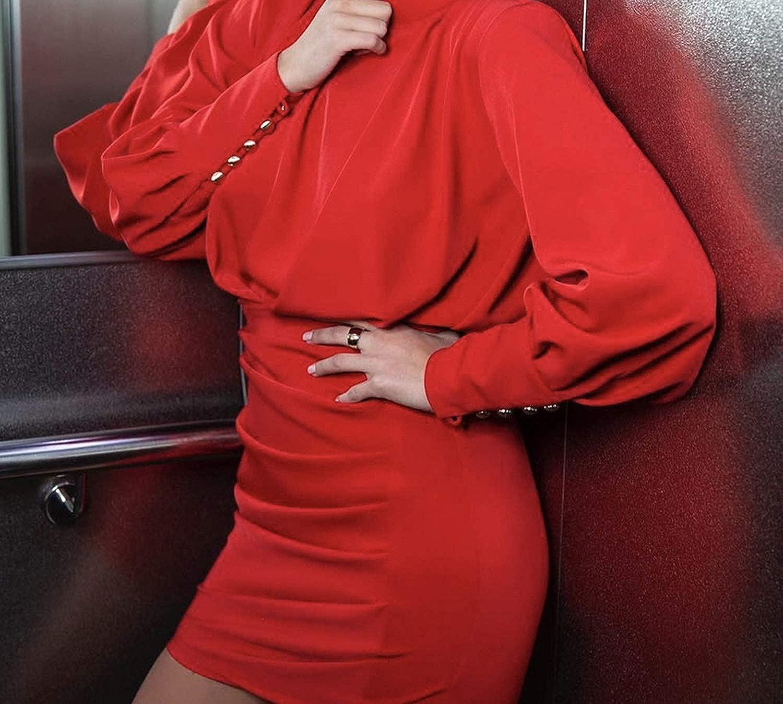 Closer-to-U Elegant Ruched Long SLE Women Dress Backless high Waist Bodycon Party Dress Plus Size Vestidos