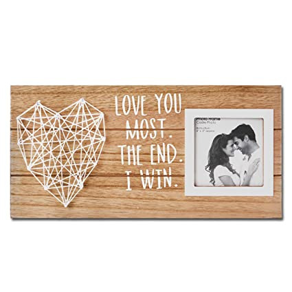 Amazoncom Vilight Love Picture Frame With Heart Anniversary And