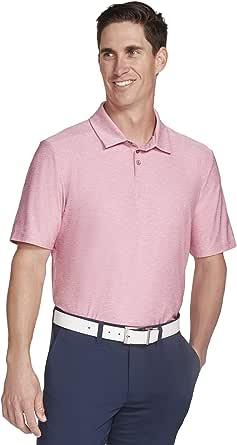 Skechers Golf Men's Pitch Shot Short Sleeve Solid Golf Polo
