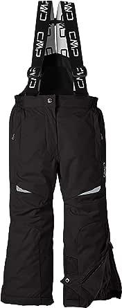 CMP Hose Skihose - Mono de esquí para niña, color negro, talla 98 cm