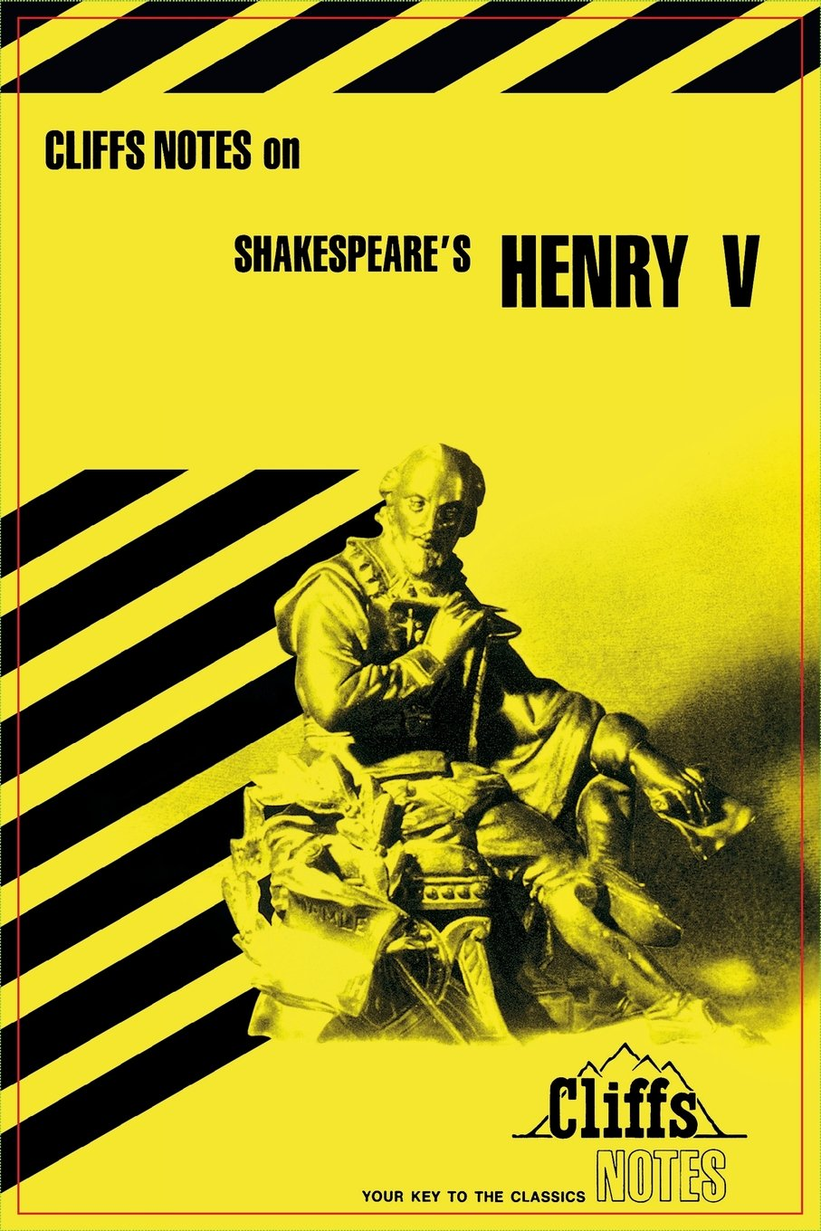 Notes on Shakespeare\'s King Henry V (Cliffs notes): Amazon.co.uk ...