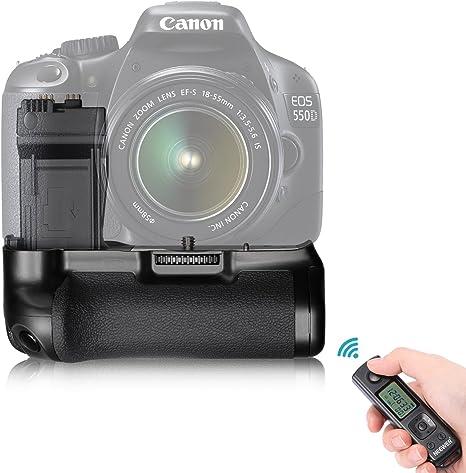 Neewer® Grip batería para Canon Rebel T2i T3i T5i / EOS 550D 600D ...