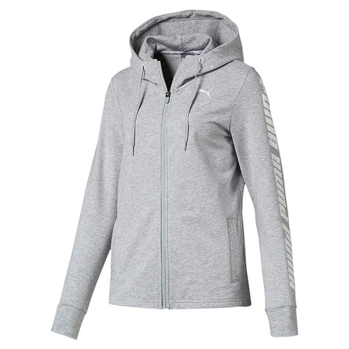 PUMA Damen Modern Sports Hooded Jacket Sweatjacke
