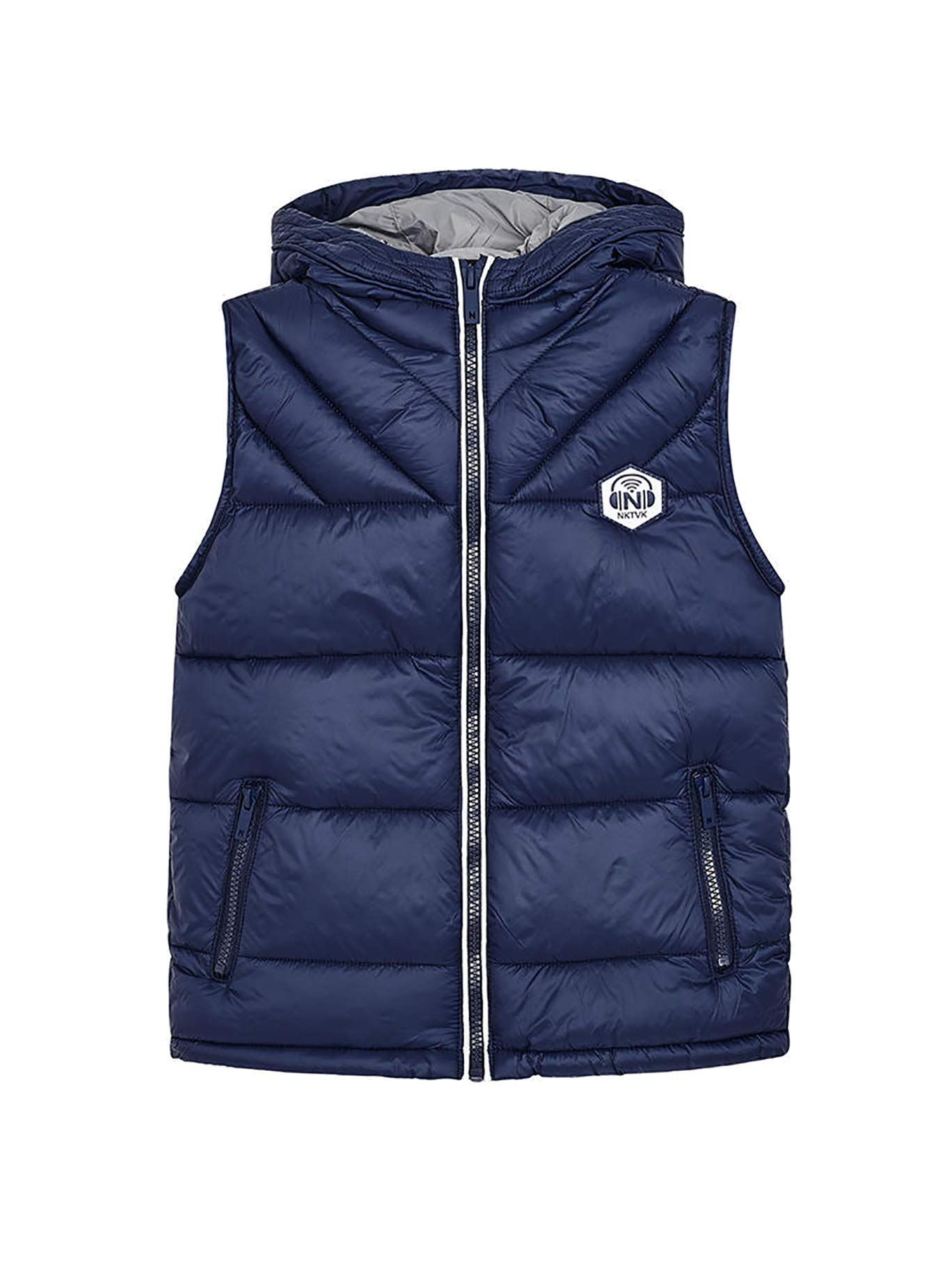 Mayoral 18-07411-036 - Padded Vest for Boys 16 Years Indigo