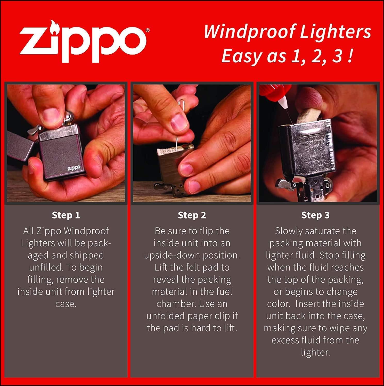 Zippo Motorrad Zigarettenanz/ünder