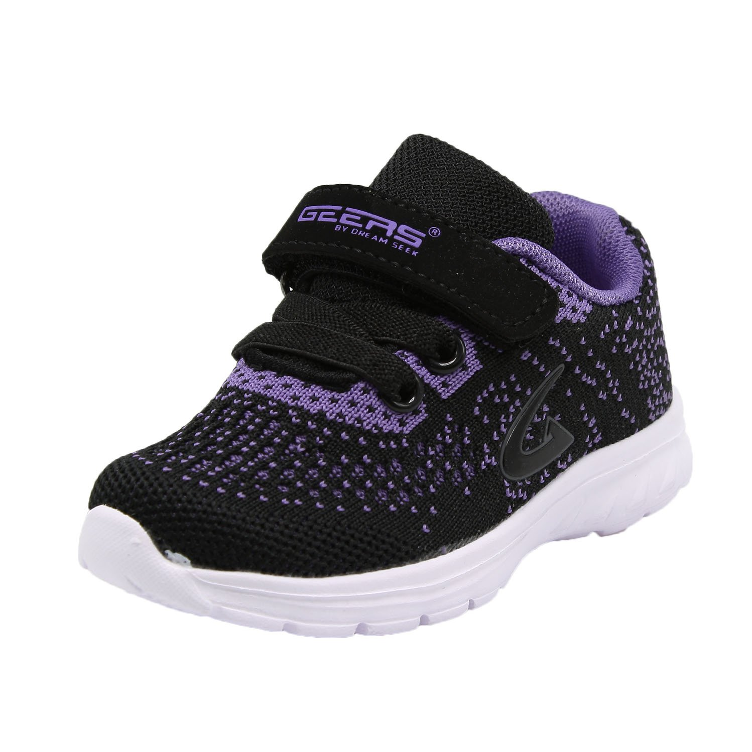 KomForme Kids Sneakers Varies Size Toddlers Sports Shoes for Boys Double Hook