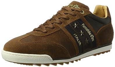 Pantofola d'Oro Imola Uomo Low, Baskets Homme, Marron (Tortoise Shell .Jcu), 44 EU