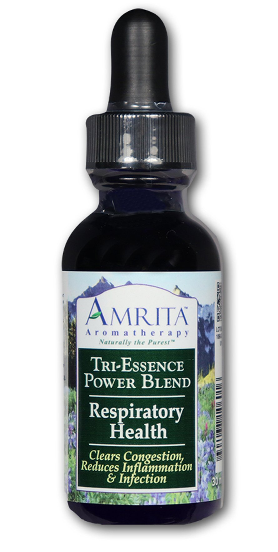 AMRITA Aromatherapy: Respiratory Health Tri-Essence Power Blend; Blended With All Natural Herbal Extracts, Flower Essences & Essential Oils of Inula, Niaouli, Pine Sylvestre & Red Myrtle - SIZE: 240ML by AMRITA Aromatherapy