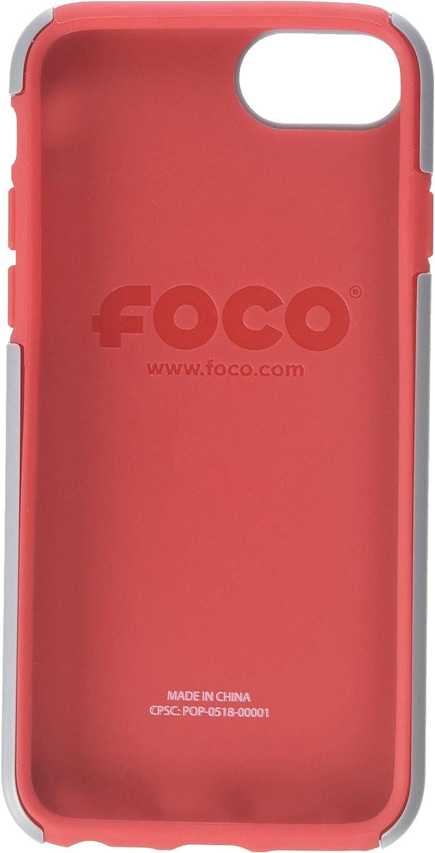 TPU FOCO NCAA Unisex Impact Dual Hybrid Ai7//8 Cover Reverse Color