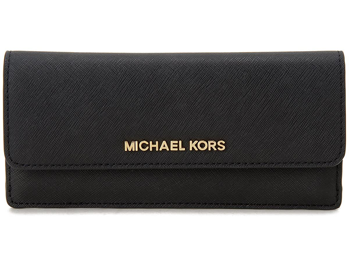 マイケルコース MICHAEL KORS 二つ折り長財布 32F3GTVE7L-001 ブラック レディース (並行輸入品) B00S27LK9I