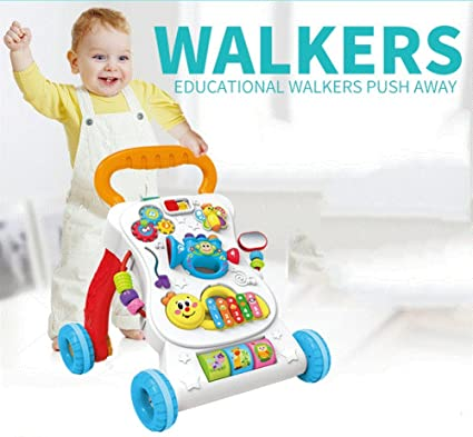 Andador para Bebés Multi-función Previene El Rollover Del Bebé De La Elevación Del Carro