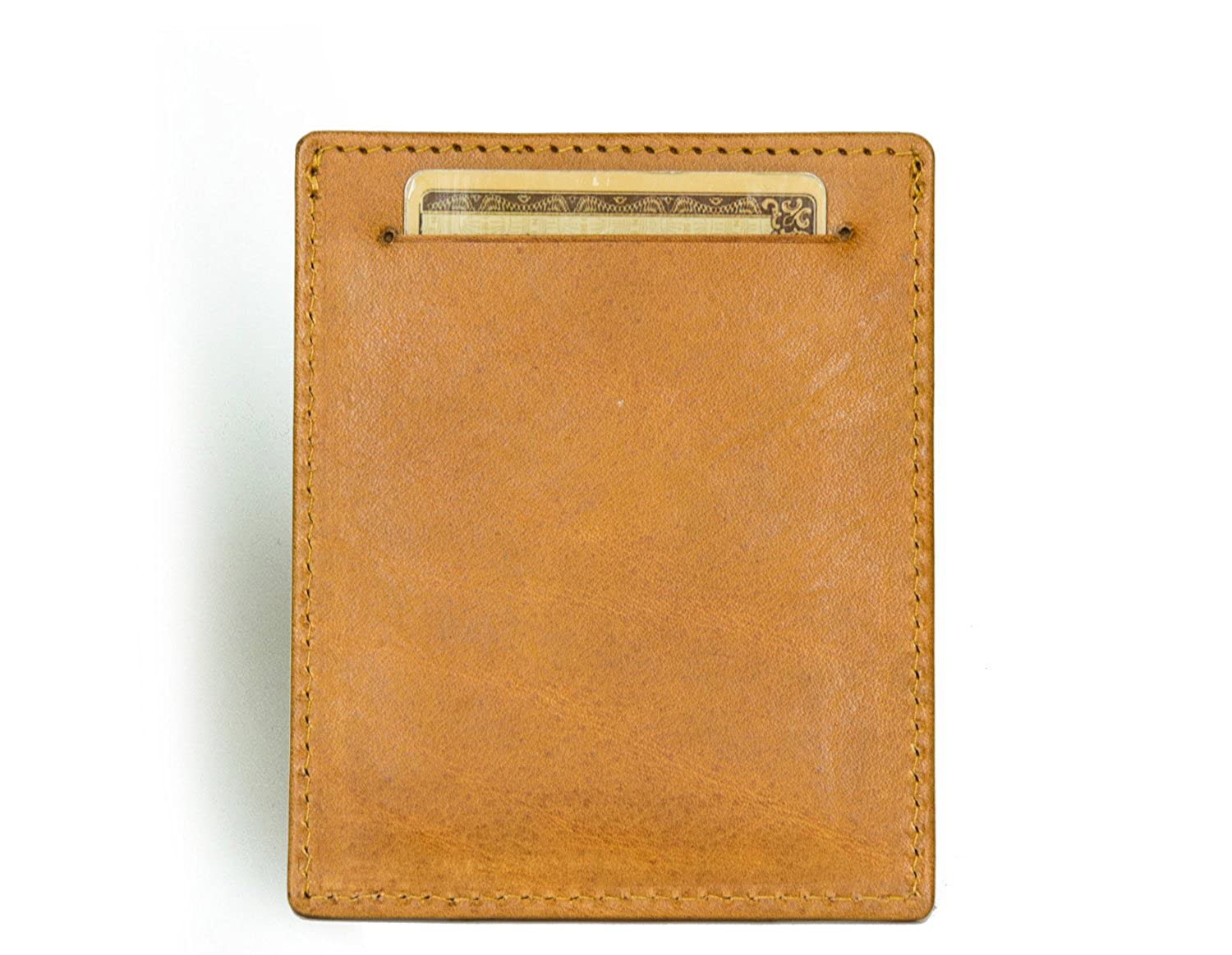 Front Pocket Wallet in Tuscany leather RFID Minimalist Card Holder from Axess