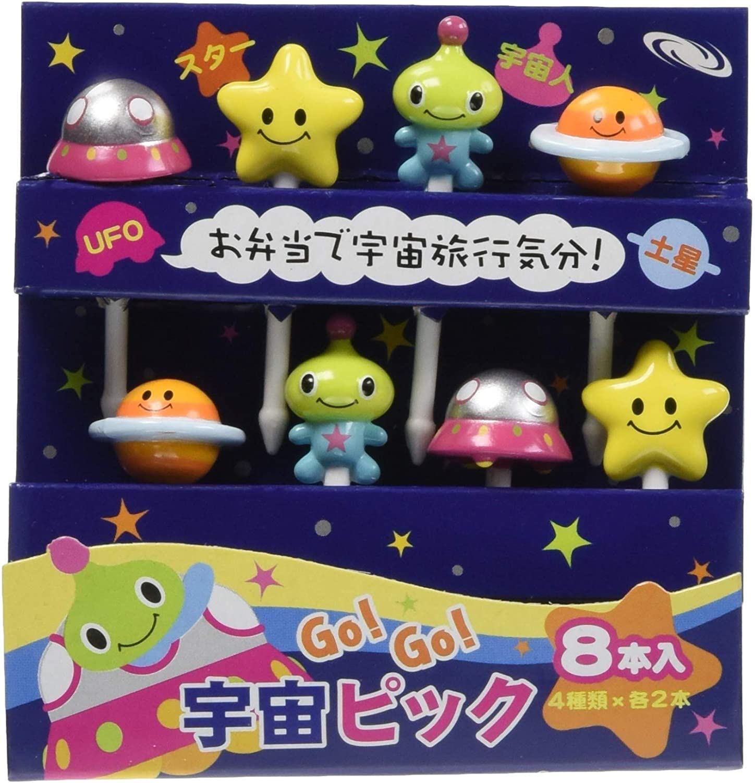 Torune Food Picks Bento Lunch Box, Assorted