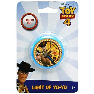 Disney Pixar Toy Story 4 Light Up Yo Yo, 2 Inch: Toys & Games