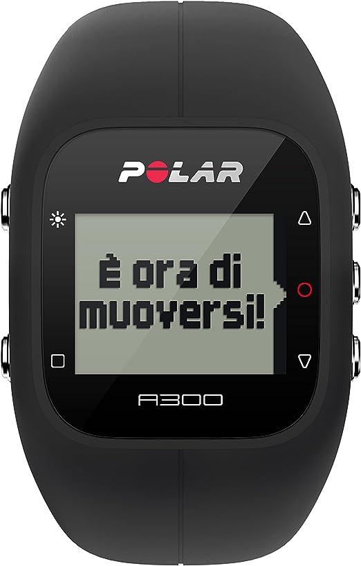 Polar A300 Pulsómetro de Entrenamiento, Unisex, Negro, Talla única: Amazon.es: Deportes y aire libre