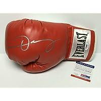 $186 » Oscar De La Hoya Signed Red Everlast Boxing Glove AC19588 - PSA/DNA Certified - Autographed Boxing Gloves