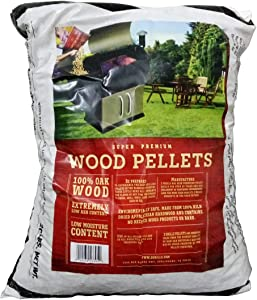 Z GRILLS 100% All-Natural Hardwood Pellets - 1 Pack- Grill, Smoke, Bake, Roast, Braise, and BBQ (20 lb. Bag) - Made in USA
