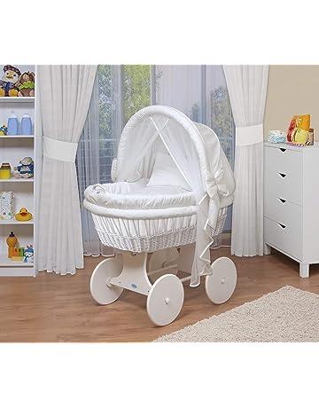 WALDIN Baby Stubenwagen Set Mit AusstattungXXLBollerwagenkomplett44 Modelle