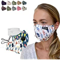 BEOLA Washable Fashion Face Mask Non Medical Reusable With Filter Reusable (Anna 2pcs)