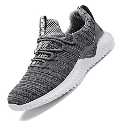 3b0b9f8cdd78f RUOK Mens Casual Sneakers Breathable Lightweight Non-Slip Outdoor Walking Athletic  Running Shoes(8506