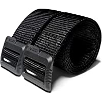 CQR Tactical (Pack of 1, 2) Duty Nylon Webbing EDC Military Belt