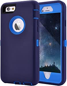 Maxcury Crosstreesports iPhone 6 Case iPhone 6s Case Heavy Duty Shockproof Series Case for iPhone 6/6S (4.7