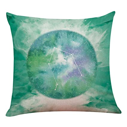 Cyhulu - Funda de almohada con cremallera y diseño de 12 ...