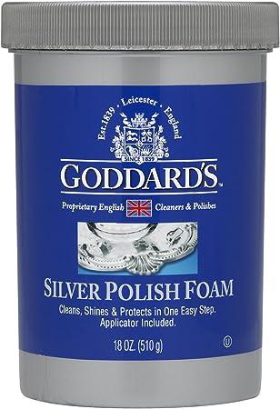 Goddards pulidor de plata – 510 g con aplicador de esponja de ...