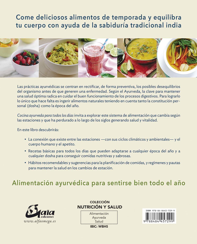 Amazon.com: Cocina ayurveda para todos los días : 100 ...