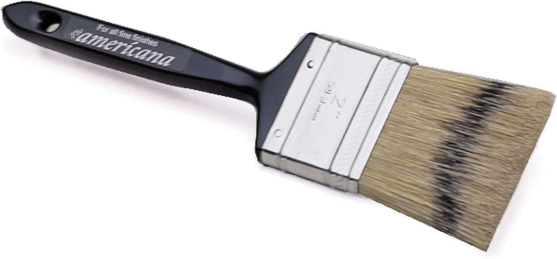 Redtree Industries 12153 Americana Fine Finish Natural Bristle Paint Brush - 3