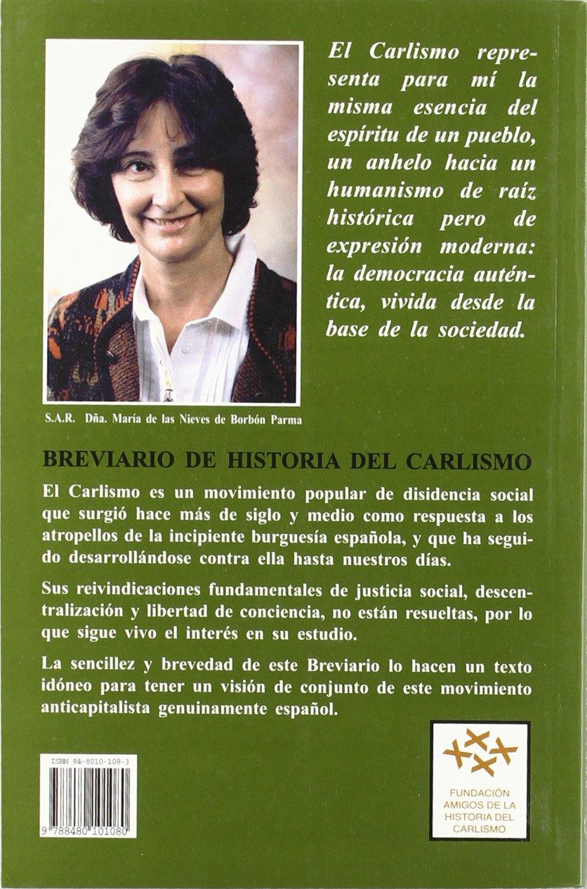 BREVIARIO HISTORIA CARLISMO: Amazon.es: Clemente, Josep Carles: Libros