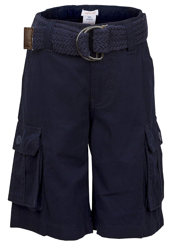 Joe Fresh Boys Kids Casual Summer Holiday Beach Shorts Knee Length with Belt 100% Cotton