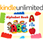 Alphabet Book for Toddlers 2-4 Years: Alphabet Picture Book for Learning New Words, Educational Book for Kids…
