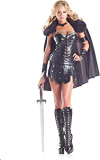 Adult Womenu0027s 6 Piece Sexy Warrior Princess Halloween Party Costume  sc 1 st  Amazon.com & Amazon.com: SPARTAN GIRL Adult Fancy Dress Costume All Sizes: Home ...