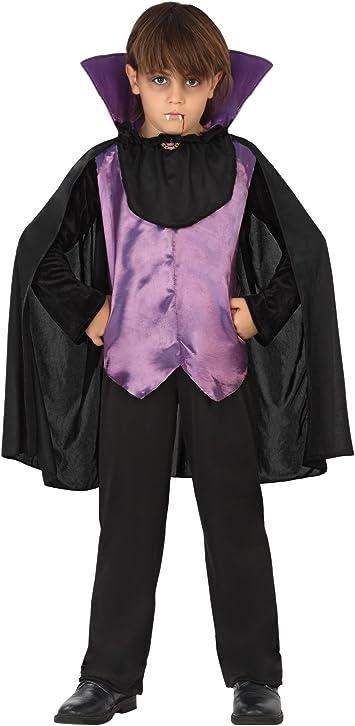 Atosa-28186 Disfraz Vampiro, Color Violeta, 3 a 4 años (28186 ...