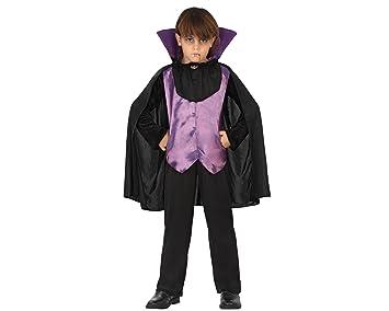 Atosa-28187 Disfraz Vampiro, Color Violeta, 5 a 6 años (28187 ...