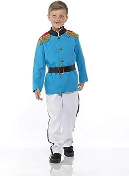 Generique - Disfraz su alteza el príncipe para niño 3-4 años (104 ...