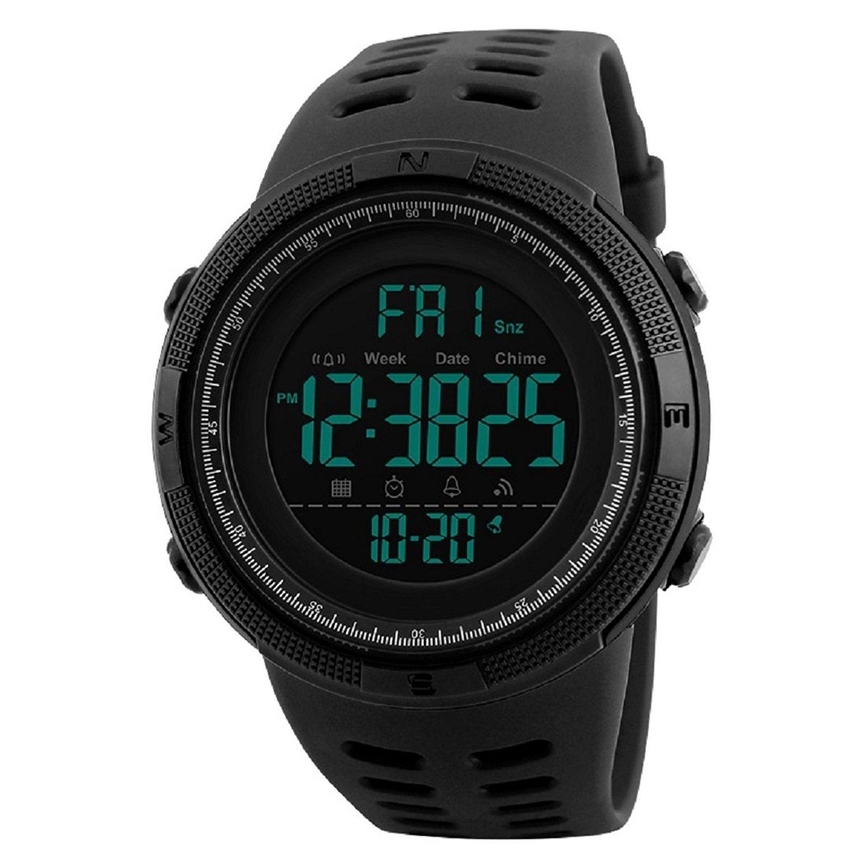 SKMEI Digital Dial Men's Watch-1251 Black@Rs.485