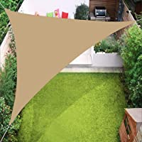 Sun Shade Sails Triangle Canopy, 98% UV Block Markise Cover för uteplats Gräsmatta Garden Yard