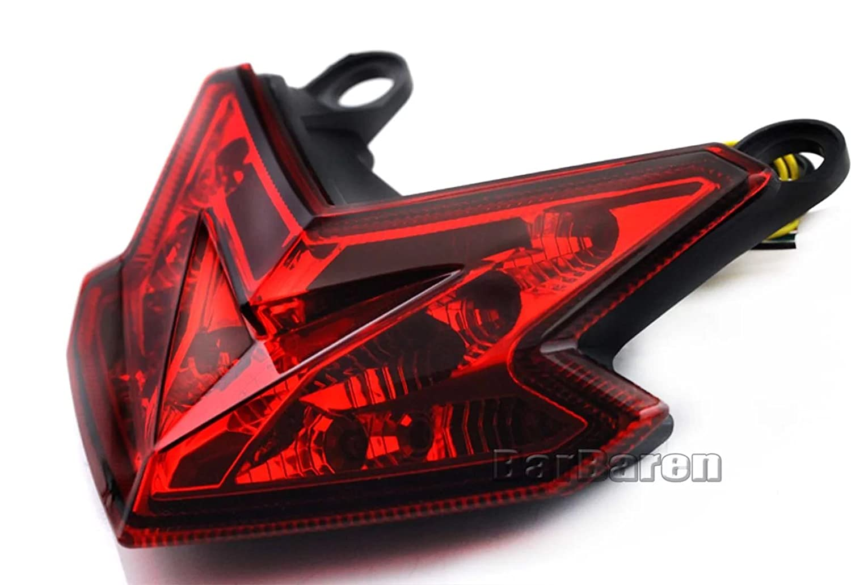 Integrated LED Tail Light Turn Signals Blinker For Kawasaki Z125 2016-2017 Z800 2013-2016 ZX-6R Ninja 2013-2017