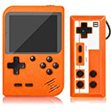 Handheld Game Console, Retro Mini Game Player with 500 Classic FC Games, 3.0 Inch Screen 800mAh Rechargeable Battery…