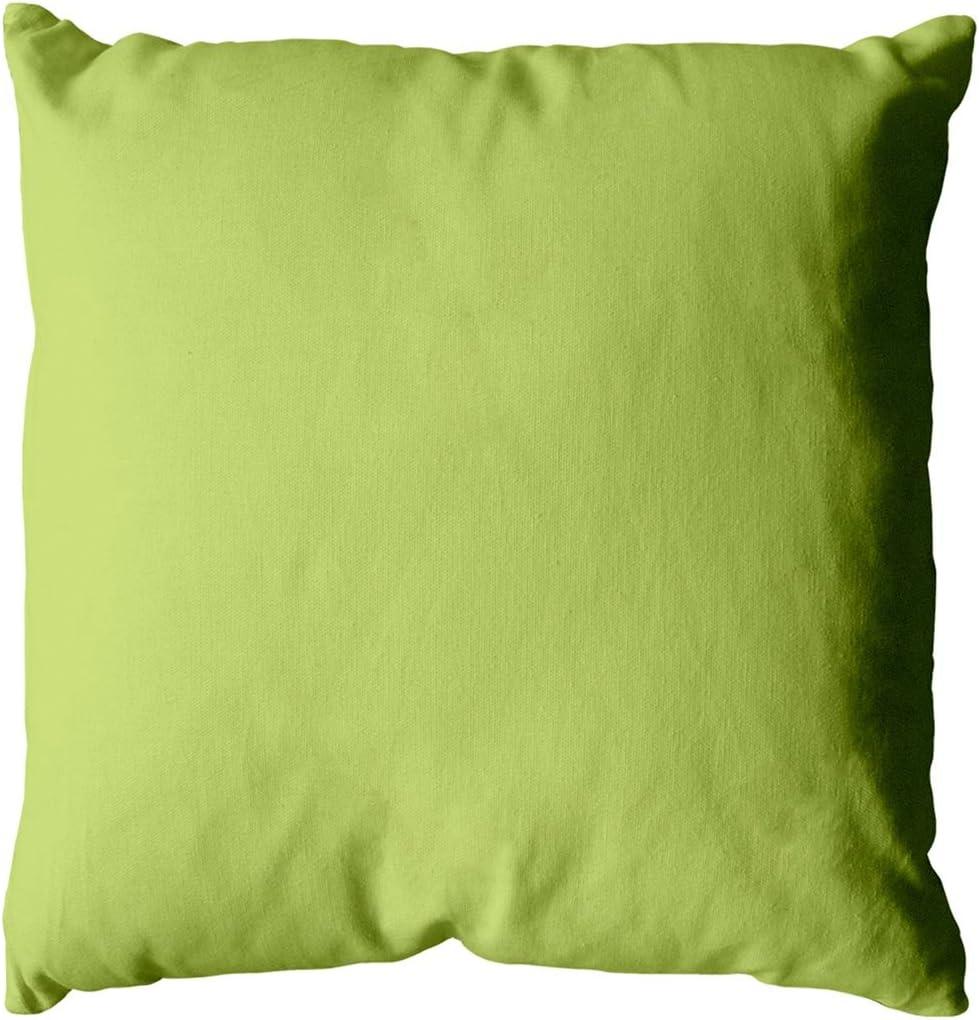 40 x 40 400/g Avorio Colore: Verde Anice Enjoy Home/ /Cuscino in Cotone