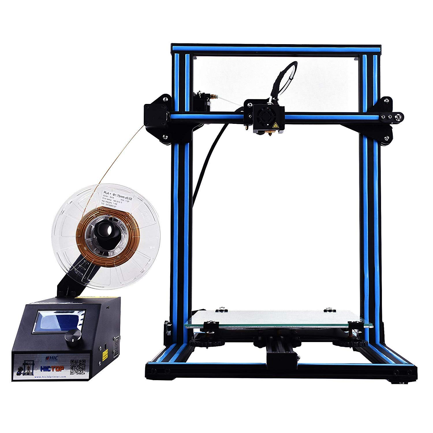 HICTOP Creality CR-10S 3D Printer Filament Monitor Dual Z axis Screw Rods 300x300x400mm