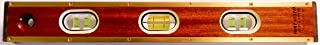"product image for Port Austin Level & Tool Mfg. Co. Port Austin Level Flat Brass Wood Mason 18"" Level"