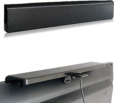Feintech tza00900 Antena Activa de Sala colocación discreta en televisor TDT Digital terrestre dvb-t2 TV, Negro.: Amazon.es: Electrónica