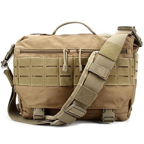 3bc38e15e068 Trivol Military EDC Messenger Bag Tactical Laptop Shoulder Bag Multi-Functional  Handbags for Everyday Carry