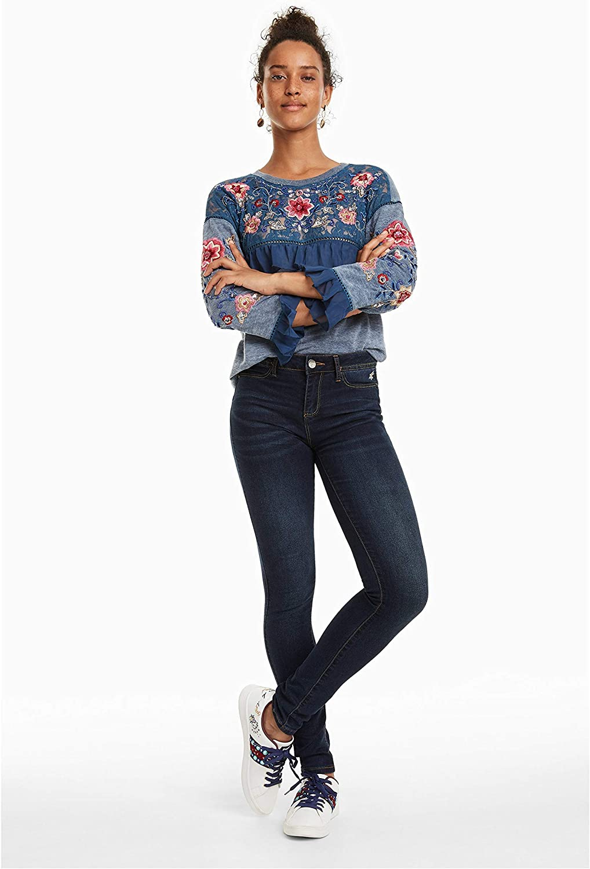 Jeans donna denim 2nd skin DESIGUAL