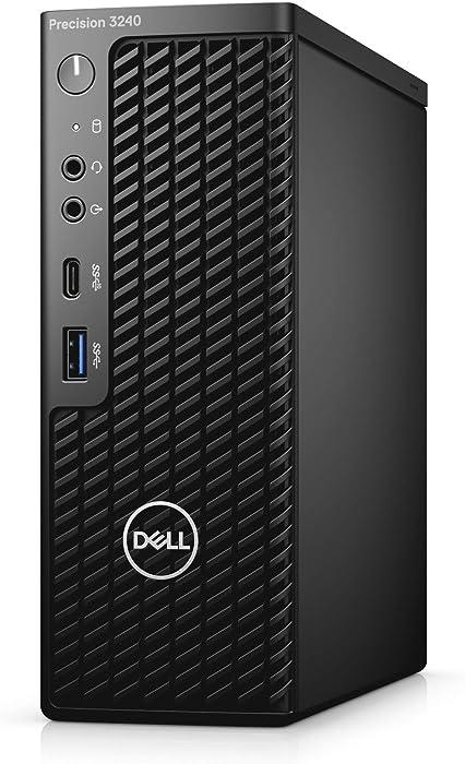 Dell Precision 3240 Compact BTS Base Desktop - Intel Xeon W-1250, 16GB DDR4, 512GB SSD HD, Windows Pro for Workstations - Black